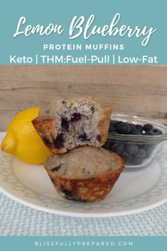 Thm Recipes, Cooking Recipes, Healthy Recipes, Thm Fuel Pull, Blueberry Protein Muffins, Trim Healthy Mama Diet, Low Carb Protein, Fiber Foods, Snacks