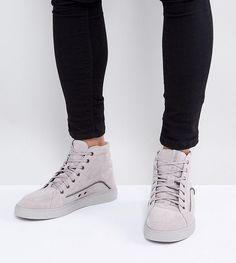 Diesel Vipe Hi Top Sneakers - Gray