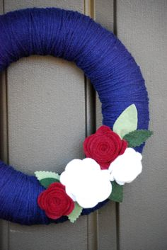 Abstract Grace: {4th of July Wreath}