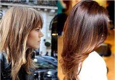 Resultado de imagem para cortes de cabelo feminino longo