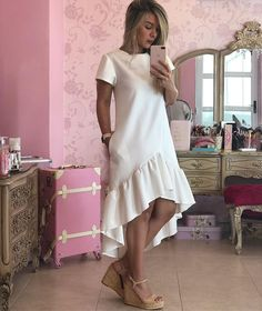 Lovely Dresses, Simple Dresses, Beautiful Outfits, Casual Dresses, Short Dresses, Maternity Fashion, Modest Fashion, Fashion Outfits, African Fashion Dresses