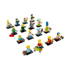 LEGO The Simpsons LEGO Minifigures - The Simpsons Display 60s