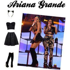 Ariana Grande - Cat Ears #Polyvore