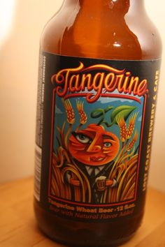 Lost Coast Brewery - Tangerine Wheat Beer    If you like tangerines you will like this beer.
