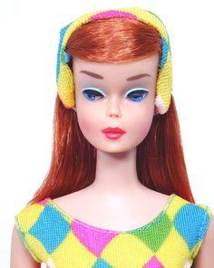Rare! Vintage Scarlet / Midnight High Color Color Magic Barbie Doll MINT!