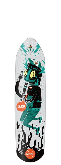 Luca Longboards Poland + Newfren by New Fren, via Behance