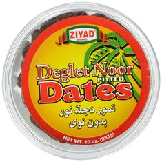 Ziyad Deglet Noor Pitted Kajoor Dates, 10 Ounce *** You can get more details by clicking on the image.