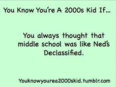 Yeah... talk about disappointing... and I though high school was like high school musical NOOO XD
