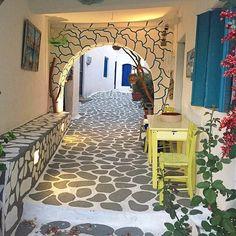 Amazing fairytale pathway, Kimolos, Greece