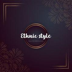 Gold background with mandala Free Vector Pink And White Background, Gold Glitter Background, Glitter Frame, Frame Background, Wedding Invitation Card Design, Elegant Wedding Invitations, Graphic Design Templates, Modern Graphic Design, Feuille Eucalyptus