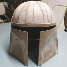 How to make a cardboard costume helmet