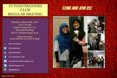 Meeting Flyer