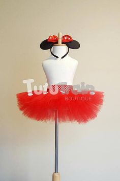 Minnie Mouse Tutu Skirt Minnie Tutu Minnie Mouse Dress Tutu Dresses, Minnie Mouse, Trending Outfits, Unique Jewelry, Disney, Handmade Gifts, Skirts, Etsy, Kid Craft Gifts