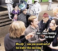 gif funny The Hunger Games jennifer lawrence Josh Hutcherson