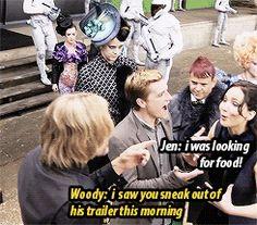 gif funny The Hunger Games jennifer lawrence Josh Hutcherson