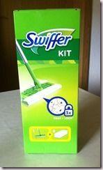 Kochlöffel & Lippenstift: Swiffer Set (1 Bodenwischer Plus 8 Boden-Staubtüch...