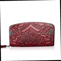 54.79$  Watch here - http://alitdz.worldwells.pw/go.php?t=32605407816 - 2016 New Women genuine leather wallet brands women purse quality leather embossing fashion women long wallets clutch bag