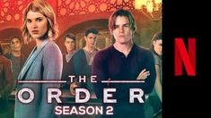 """DownloadThe Order (2020) Season 2Hindi [ हिंदी DD 5.1 – English ] Netflix WEB Series All Episodes. """"//"""" This is a Netflix Originals Series and available in720p&480pqualities. This Netflix WEB Series is based onDrama, Fantasy, Horror. This Series isavailable inHindi. Annie Walker, Piper Perabo, Drama Series, Tv Series, Devery Jacobs, Series Poster, Katharine Isabelle, Jodelle Ferland, Animes Online"""