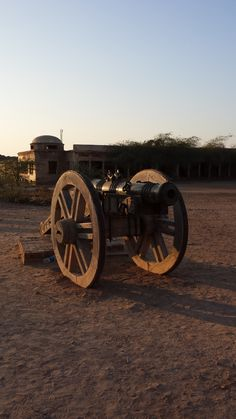 cannon inside the Derawar Fort