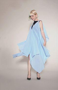 Strandkleid. Negligee. Sommerkleid. Dieses Kleid aus IVN zertifizierter Biobaumwolle überzeugt.