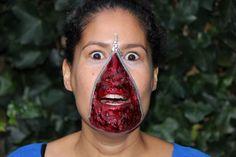 Zipperface Halloween  Schminkkoppies Mariëlle Heuft Carnival, Halloween, Face, Painting, Carnavals, Painting Art, The Face, Paintings, Faces
