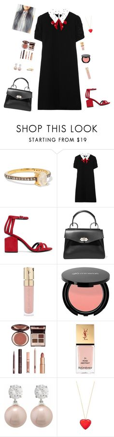 """""""dark"""" by candynena228 ❤ liked on Polyvore featuring Chan Luu, Miu Miu, Alexander Wang, Proenza Schouler, Smith & Cult, Charlotte Tilbury, Yves Saint Laurent, Jankuo and Kate Spade"""