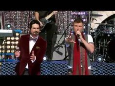"""The Backstreet Boys performing """"It's Christmas Time Again"""" at a Disney World Christmas Day Parade celebration.  - YouTube"""