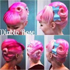 Diablo Rose: Atomic Beehive (with Bettie Bangs)