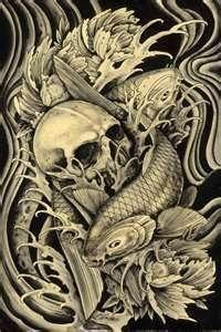 Koi Tattoo Art  Fish