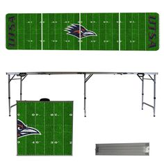 University of Texas San Antonio Roadrunners 8 Foot Portable Tailgate and Pong Table