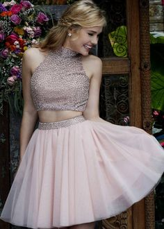 astonishing Lastest Fashion Two Piece Beaded High Neck Blush Hoemcoming Dress [Sherri Hill 11287 Blush] - $205.00 : Hot Trends Prom Dresses 2015 On Store For Girls by Jasmine in Retroterest. Read more: http://retroterest.com/pin/lastest-fashion-two-piece-beaded-high-neck-blush-hoemcoming-dress-sherri-hill-11287-blush-205-00-hot-trends-prom-dresses-2015-on-store-for-girls/