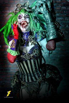 Duela Dent cosplay by defenzmechanizm