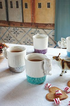 These Owl Mugs are the prettiest I've ever seen.  (And I've seen TONS.)