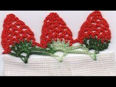 Passo a Passo Frutinhas de Crochê Mega Morango 3D por JNY Crochê - YouTube