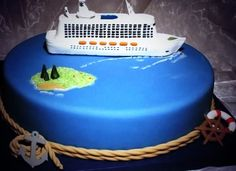 It's our 6th Anniversary being in business as Travel Lady Cruises & Taylor Sailor surprises me with a cake to celebrate!