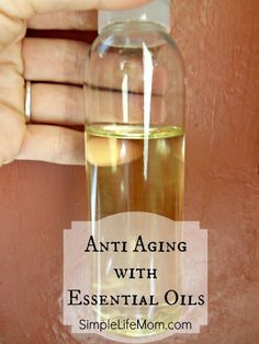 Anti-aging with essential oils gives a lot more benefits than reducing wrinkles alone.Essential oils replenish your skin, healing it with pure natural oils.