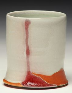 nick toebaas - white plus red and orange accents