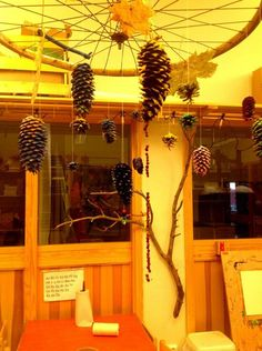 "Naturally beautiful mobile at Ekuddens förskola, Bubblan ("",)"