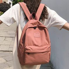 Student Female Fashion Backpack Cute Women School Bags For Girls Water – cuteshoeswear highschool backpack backpack outfit back to school backpacks Cute Backpacks For School, Cute School Bags, School Bags For Girls, Girls Bags, Cute Backpacks For Women, Cool School, Bag To School, Bags For College, Vans School Bags