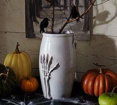 Bone Hand Vase #potterybarn