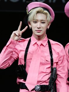 Oh, that is def your color, Wonho!