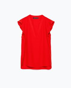 ZARA - NEW THIS WEEK - V-NECK TOP