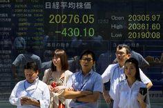 Greece's Debt Crisis Sends Stocks Falling Around Globe - NYTimes.com