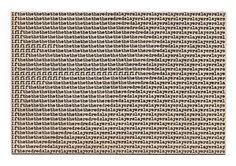 Carl Andre - Andrea Rosen Gallery