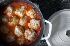 Prior to November, what I knew of stuffed cabbage rolls were limited to the Jewish/Eastern European variety, which I make the way my mother-in-law does. I hadn't given it further thought beca…