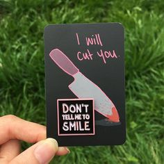 Repost @lazylucaofficial Stranger: Smile! You look prettier if you smile! Me: www.lazyluca.com (Posted by https://bbllowwnn.com/) Tap the photo for purchase info. Follow @bbllowwnn on Instagram for the best pins & patches!