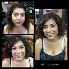 We are offering $80 Prom Hair & Makeup Packages only at Entourage Hair Salon located in West Covina www.entouragehairsalon.com #prom #makeup #hair