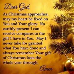 Spiritual Christmas Prayers