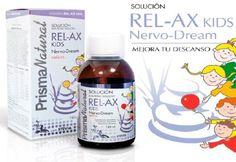 SOLUCIONES RELAX KIDS (180 ml)  Mejora tu descanso  Solución Liquida específicamente formulada para equilibrar el sistema nervioso, la conciliación y la calidad del sueño.Es un complemento alimenticio orientado a niños mayores de tres años de edad