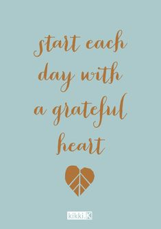 Want to find little ways to be more mindful? Try starting each day by thinking of three things you're grateful for. It could be something big like your family or something small like the walk to work... It's a great way to start the day with a positive mindset.